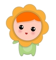 Little Happy Chamomille Baby vector image