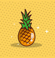 pineapple nutrition diet fresh image vector image vector image