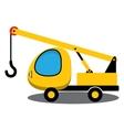 Toy crane vector image vector image