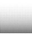 a halftone vector image vector image