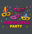carnival show logo flat style vector image vector image