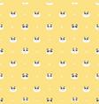 cute panda seamless pattern background vector image vector image
