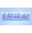 Greeting card Happy New Year 2016 vector image vector image
