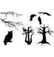 halloween clipart set vector image vector image