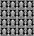Royal black and white background vector image
