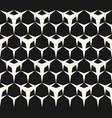seamless pattern triangular mesh vector image vector image