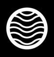water icon design vector image