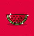 watermelon nutrition diet fresh image vector image