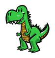 dinosaur t-rex vector image vector image