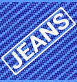 jeans stamp sport typography athletics t-shirt vector image vector image