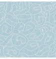 Seamless tangled pattern in light blue color vector image vector image