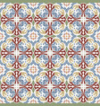 seamless vintage pattern vector image vector image