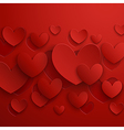 Valentine abstract red