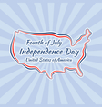 Independence Day United States vector image vector image