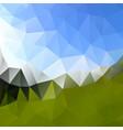 multicolor polygonal background design vector image vector image