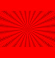 original colorful comic background in red colors vector image vector image