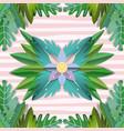 paper art frame vector image vector image