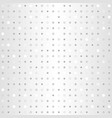 polka dot pattern seamless silver background vector image