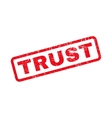 Trust Rubber Stamp vector image vector image