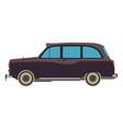 car retro vintage classic auto garage design icon vector image