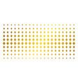 diamonds suit gold halftone effect vector image vector image
