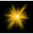 explosion4 vector image vector image