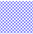 fish scale pattern vector image vector image