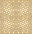 golden seamless pattern in arabian style vector image vector image