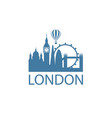 london landmark image vector image