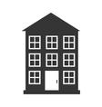 Real estate building vector image