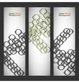 Set abstract style background vector image vector image