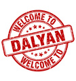 welcome to Dalyan vector image vector image