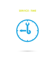 Maintenance and repair Time vector image