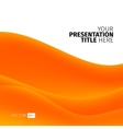 abstract background with waves vector image vector image