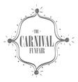Circus carnival funfair vector image vector image