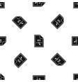 file eps pattern seamless black vector image vector image