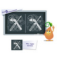 game find 9 differences fitter tools vector image vector image