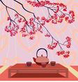 Happy Valentines Day Menu vector image