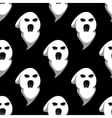 Night ghost halloween seamless pattern vector image vector image