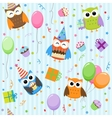 party owls vector image vector image