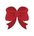 ribbon bow icon image vector image vector image