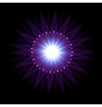 Abstract flare background vector image