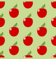 apple fruit seamless pattern vector image vector image