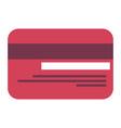 bank money card vector image vector image