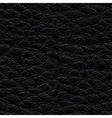 Black leather seamless texture vector image