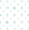 cash icons pattern seamless white background vector image vector image