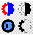 head gear eps icon with contour version vector image vector image