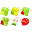 retail sale labels vector image vector image