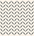 seamless horizontal wavy lines curved pattern vector image