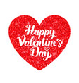 white red valentine day vector image vector image